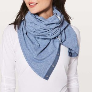 Lululemon Vinyasa scarf - Citron colour